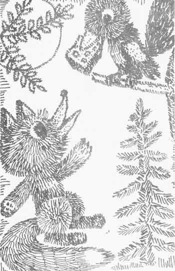 Рисование штрихом: иллюстрация