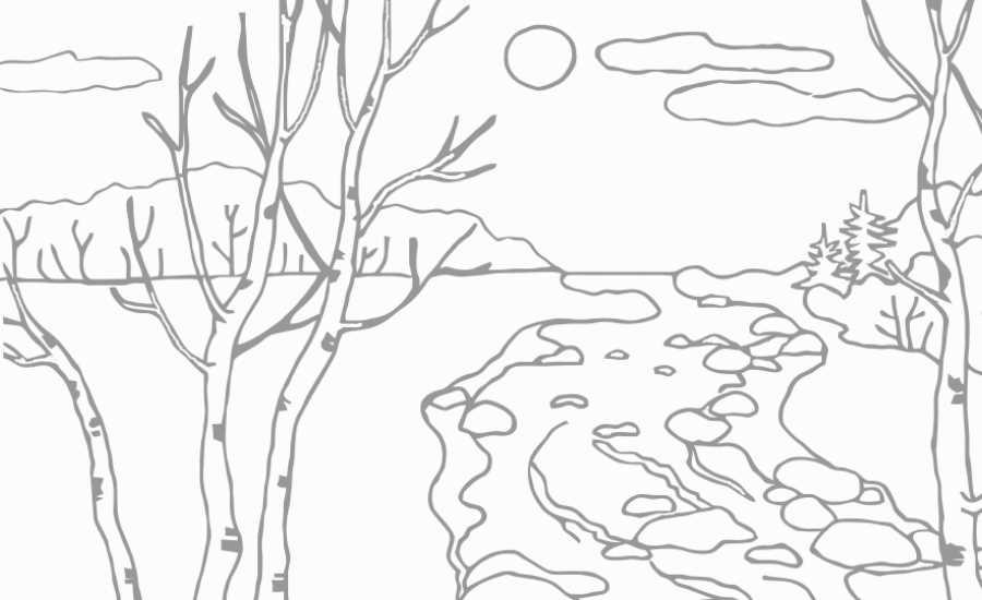 Рисунок о весне 2 класс карандашом